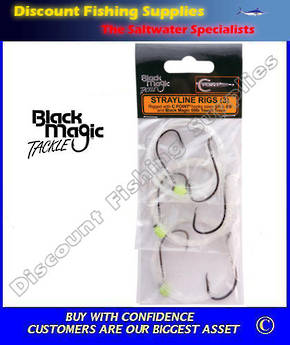 Black Magic C Point Strayline Rigs 5/0 - 6/0