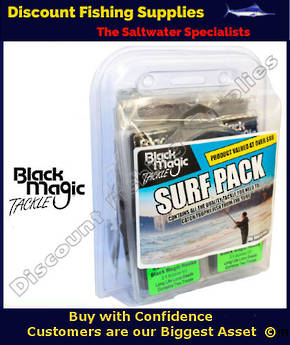 Black Magic Tackle Surf Pack