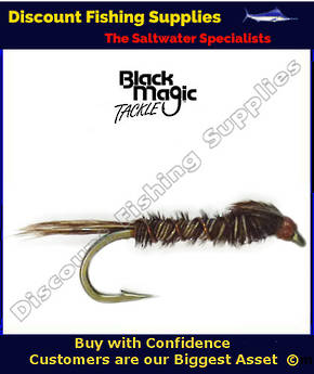 Black Magic Pheasant Tail Nymph #14