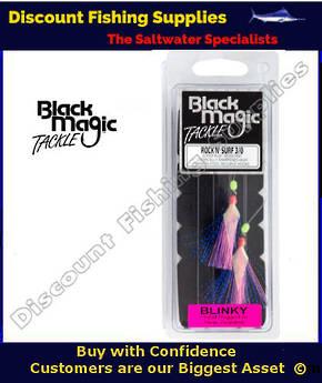 Black Magic Rock N Surf 3/0 Blinky Rig