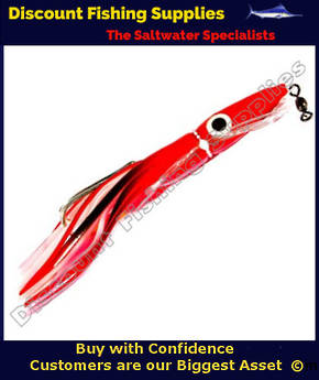 "Boone Tuna Eyes 6 1/2"" Rigged Lure - Goat Fish"