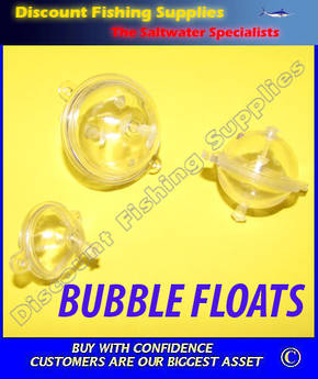 Bubble Float Clear Large (35mm)