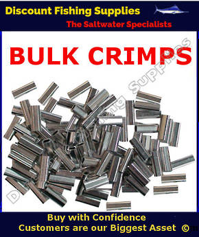 Crimps - BULK Aluminium Single Sleeve 2.6mm X 1000