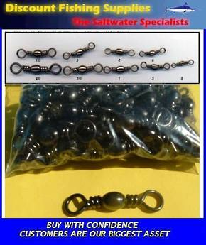 Bulk pack Barrel Swivels #2  (100)