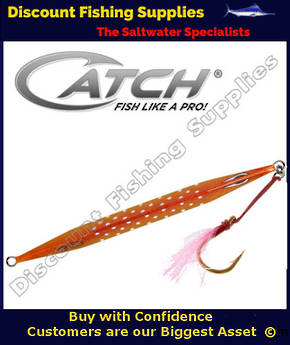 Catch Fishing - Double Trouble 300gr Jig - Orange Assassin