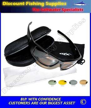 CDX Polarised Sunglasses - Wrapper Smoke