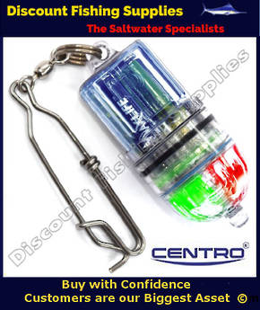 Centro LED Power Light Eco (Flicker) Lure Lamp (Gr Bl Pu Re)