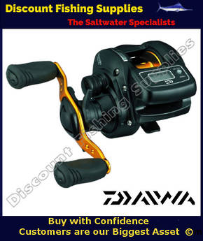 Daiwa Light Game ICV 150H Low Profile Baitcaster