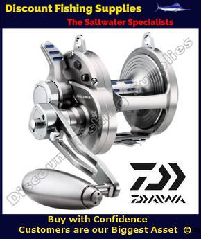 Daiwa Saltiga LD60 2 Speed Lever Drag Reel