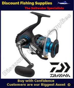 Daiwa Saltist Series Magsealed 8000 Spin Reel