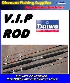 "Daiwa VIP Rod 20lb-50lb 6'6"" Boat Rod"