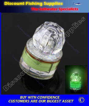 Diamond Strobe Deep Drop Light Green