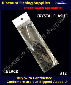 DFS Crystal Flasher Hair - Black