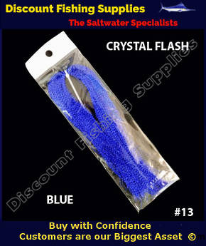 DFS Crystal Flasher Hair - Blue