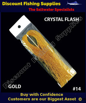 DFS Crystal Flasher Hair - Gold