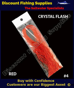 DFS Crystal Flasher Hair - Red