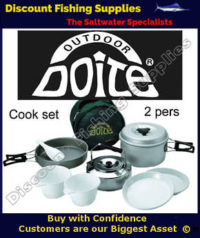 DOITE COMPACT COOK SET - 2 PERSONS