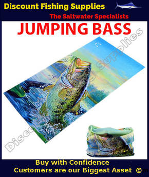 Face Shield - Jumping Bass