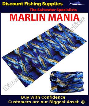 Face Shield - Marlin Mania