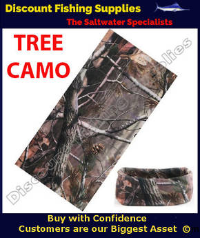 Face Shield - Tree Camo
