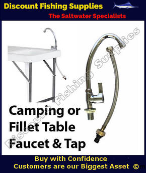 Faucet for Fillet Table or Camping Bench