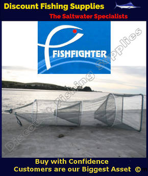 FISHFIGHTER WHITEBAIT NET WITH 2 TRAPS WhiteBait Socknet