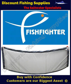 Fishfighter Deluxe Floating Whitebait Screen 2.85m