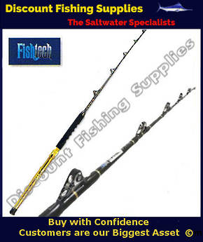Fishtech Fully Rollered Game Rod 37kg