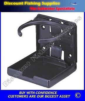 Cup Holder - Folding - Black