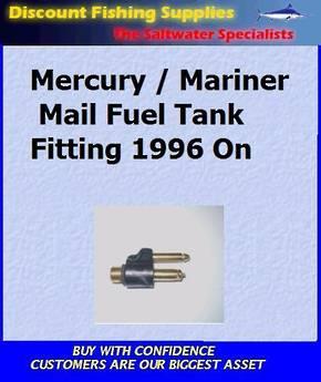 Mercury/Mariner 1996 On - Fuel Tank Fitting - Male (FU05837)