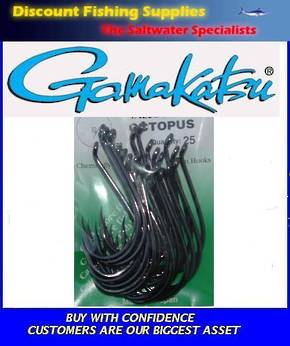Gamakatsu Octopus Hook - 10/0 Value Pack