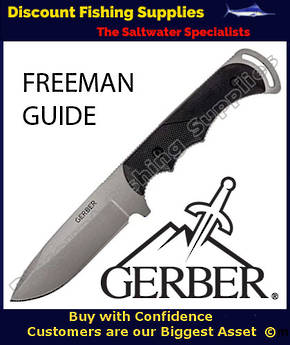 Gerber Freeman Guide Drop Point Fixed Blade Hunting Knife