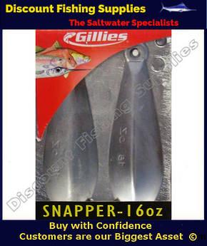 Gillies Sinker Mould - Double 16oz Reef