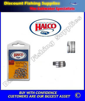 Halco Fish Rings 6XX (Split Rings)