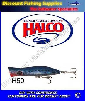 Halco Roosta Popper 135mm Pilchard