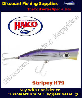 Halco Roosta Popper 135mm Stripey