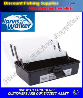 Jarvis Walker 2 Tray Tackle Box