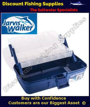 Jarvis Walker 2 Tray Tackle Box