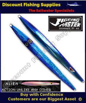 Jigging Master Alien Jig 300gr Blue
