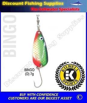 Kilwell Spinner - Bingo D 7g (bulk Pack 10)