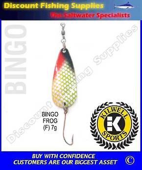 Kilwell Spinner - Bingo Frog 7g (Bulk Pack 10)