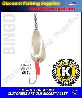 Kilwell Spinner - Bingo Silver 7g
