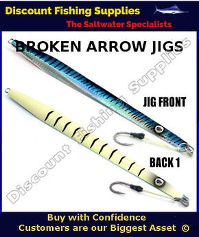 Kilwell Broken Arrow Jig 300gr - Blue Mackerel