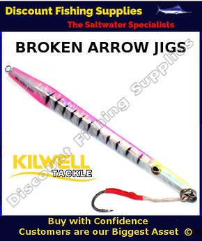 Kilwell Broken Arrow Jig 420gr - Disco Pink