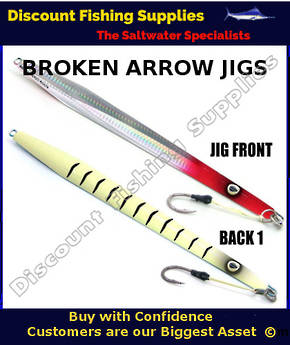 Kilwell Broken Arrow Jig 420gr - Red Head