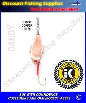 Kilwell Spinner - Dandy Copper 7g