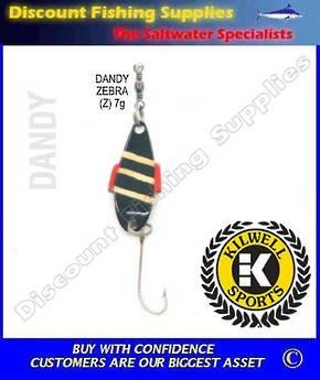 Kilwell Spinner - Dandy Zebra 7g (Bulk Pack 10)