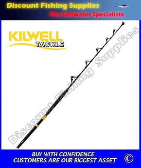 Kilwell EG Fully Rollered Game Rod 24kg - Detachable Butt