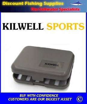 Kilwell Slit Foam Fly Box - 10 bars