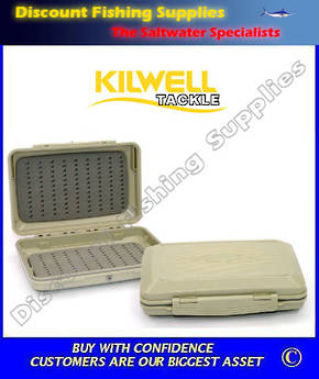 Kilwell Fly Box Waterproof Tri Foam Large